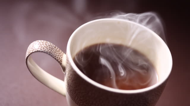 close-up of hot coffee  - coffee cup stock videos & royalty-free footage