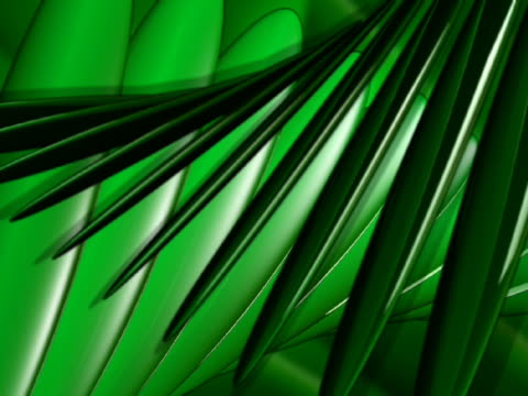 close-up of leaves in motion - manipolazione di colore video stock e b–roll