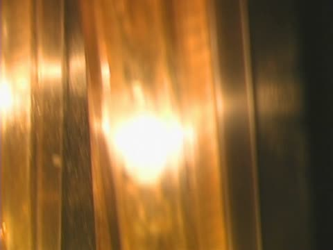 close-up of light bulbs - elevator point of view stock videos and b-roll footage