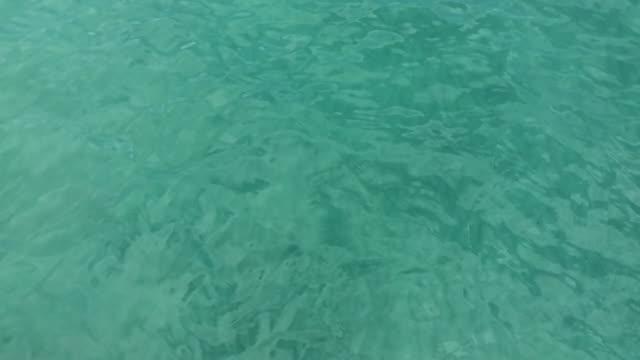 Close-up of mediterranean sea