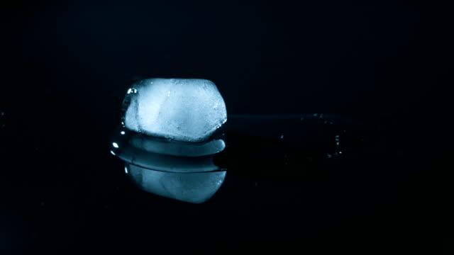 Close-up of melting ice cube
