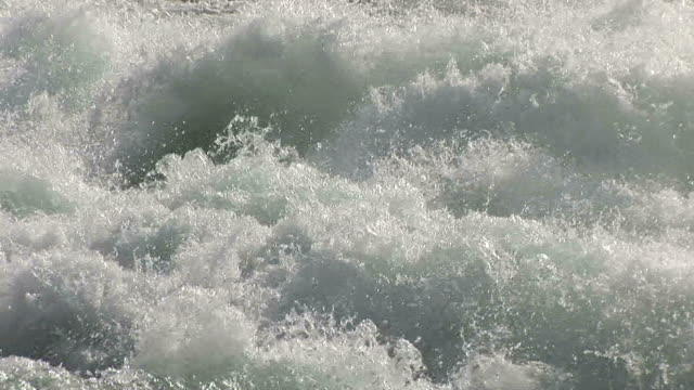 close-up of niagara river in new york united states - fluss niagara river stock-videos und b-roll-filmmaterial