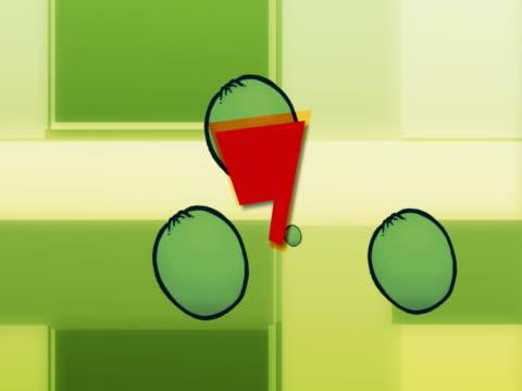 vídeos y material grabado en eventos de stock de close-up of numbers appearing on fruits - número 9