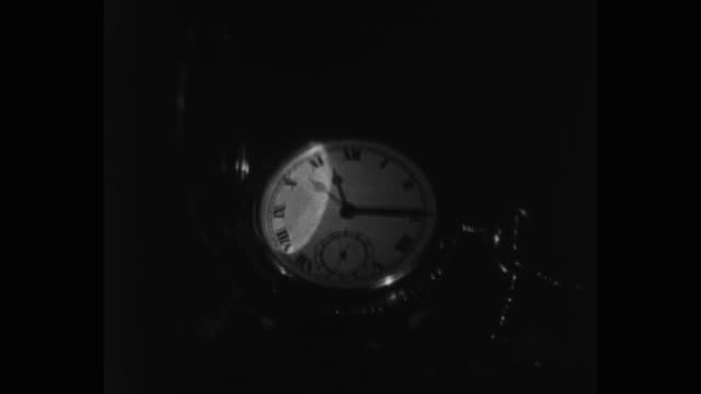 close-up of pocket watch - roman numeral stock videos & royalty-free footage