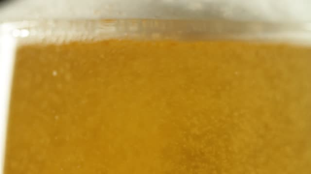 close-up of pouring beer - pint glass stock videos & royalty-free footage
