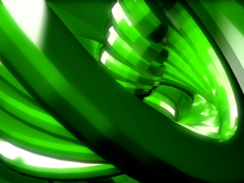 close-up of spiral objects in motion - manipolazione di colore video stock e b–roll