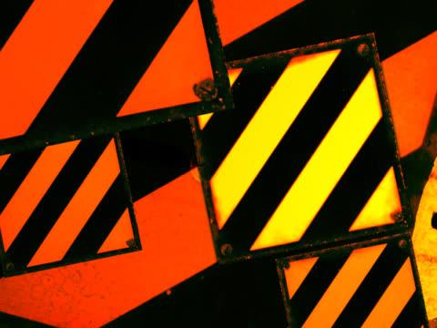 vidéos et rushes de close-up of squares spinning - quatre objets