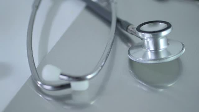 Close-Up of stethoscope