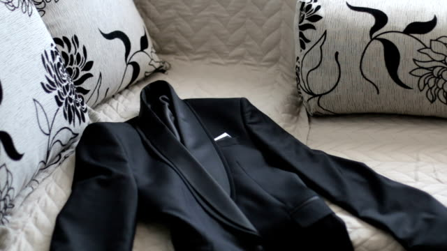 close-up of suit jacket - suit jacket stock videos & royalty-free footage