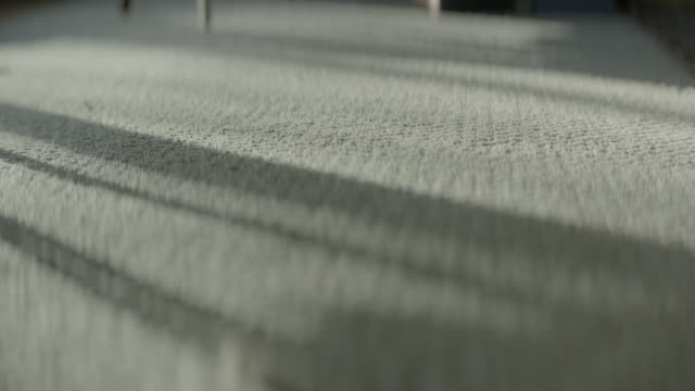 close-up of sunlight on carpet - mittag stock-videos und b-roll-filmmaterial