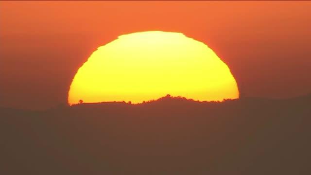 CloseUp of the Sun Rising