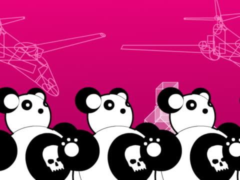 vídeos y material grabado en eventos de stock de close-up of toy pandas - panda animal