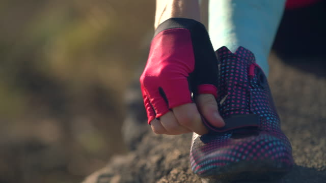 close-up of women cycling bicycle shoes. - riding stock videos & royalty-free footage