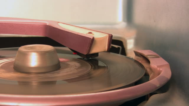 close-up on jukebox - record player stock videos & royalty-free footage