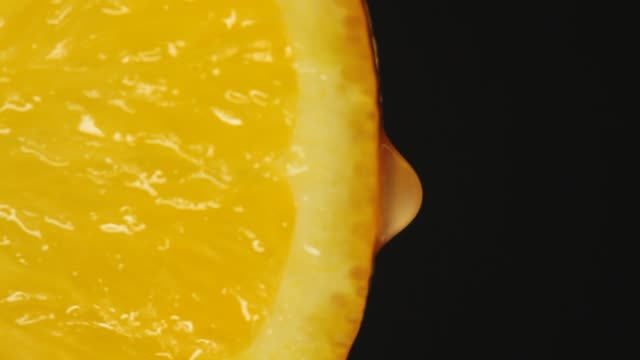 close-up orange slice - juicy stock videos & royalty-free footage