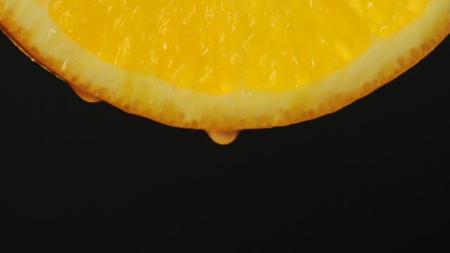 close-up orange slice - ascorbic acid stock videos & royalty-free footage