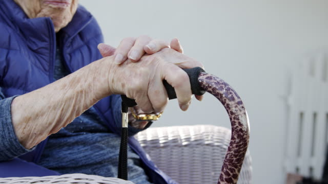 close-up photo of painful arthritis in hand, fingers, and joints of an elderly senior caucasian person - over 80 stock videos & royalty-free footage
