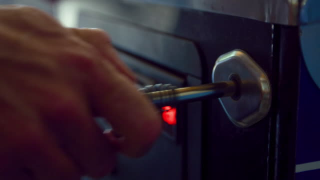 close-up: pinball machine (shot on red) - plunger stock videos and b-roll footage
