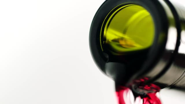 Close-up, pouring red wine