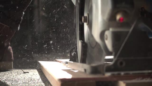 close-up-elektrowerkzeug - querschnitt stock-videos und b-roll-filmmaterial