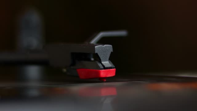 close-up record spinning on turn table - 1940 stock videos & royalty-free footage