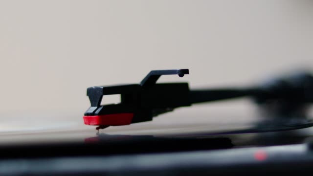 close-up record spinning on turn table - 1920 stock videos & royalty-free footage