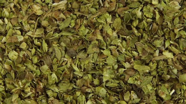close-up rotating oregano - dried food stock videos & royalty-free footage