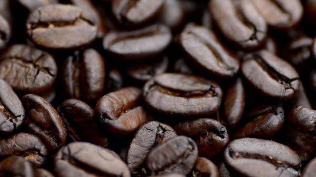 close-up de rotação :  Grãos de café