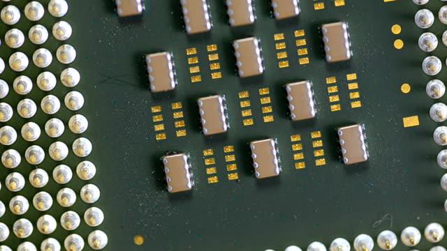 close-up rotation: Computer Processors