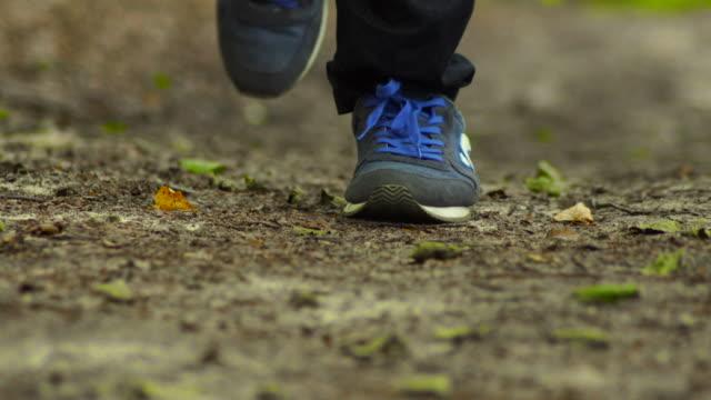 close-up running - human foot stock videos & royalty-free footage