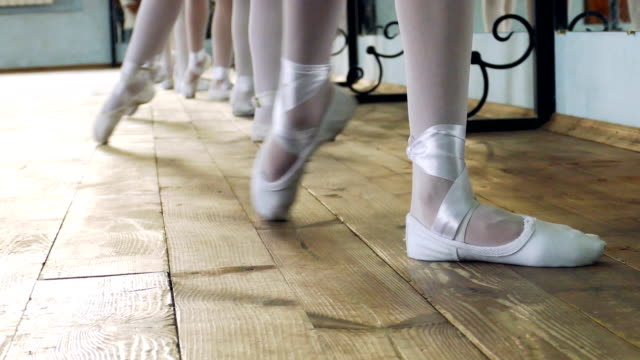close-up -  school of dance - ballet studio stock videos and b-roll footage