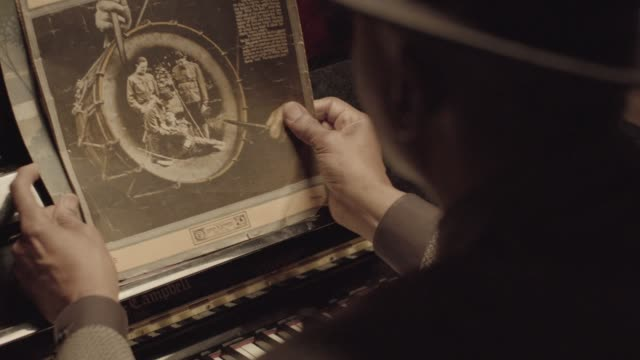 close-up shot of a senior african-american pianist preparing for a performance at a piano - sheet music stock videos & royalty-free footage
