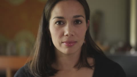 close-up shot of a woman with hispanic features - latin american and hispanic ethnicity stock videos & royalty-free footage