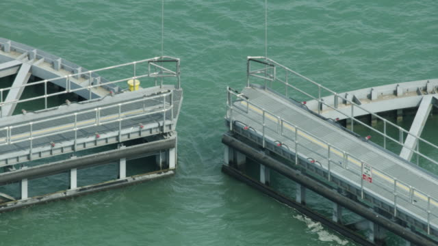 close-up shot of chicago harbor locks - great lakes stock videos & royalty-free footage
