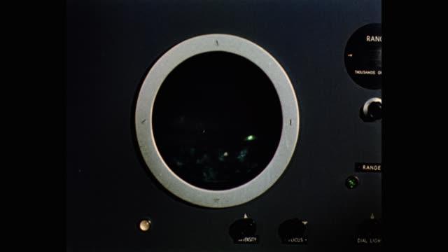 vídeos y material grabado en eventos de stock de close-up shot of spaceship radar - círculo