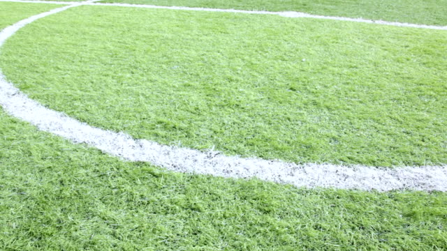 close-up soccer field. - sandal stock videos & royalty-free footage