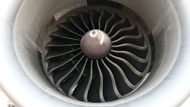 close-up turbine engine - aerospace stock videos & royalty-free footage