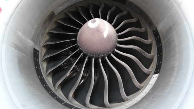 close-up turbine engine - circle stock videos & royalty-free footage