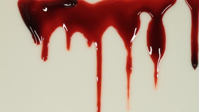 vidéos et rushes de vidéo de plan rapproché de sang - hd format