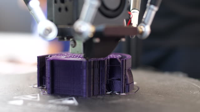 close-up:3d printing object - 3d printing stock videos & royalty-free footage