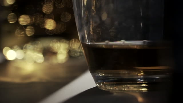 close-ups of alcoholic spirits - extreme close up stock videos & royalty-free footage