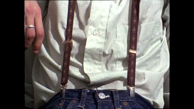 close-ups of typical skinhead fashion; 1969 - limb body part stock videos & royalty-free footage