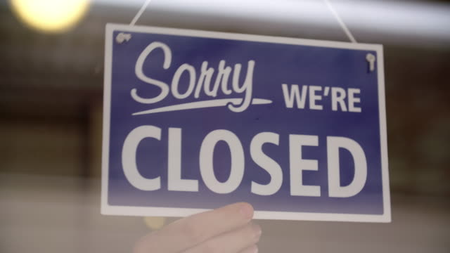 closing the store - closing stock videos & royalty-free footage