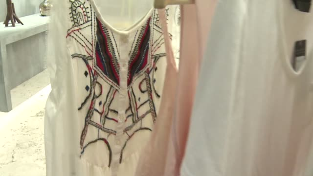 clothes on hangers - blouse stock videos & royalty-free footage