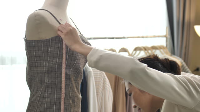 clothing designer working - fashion designer stock videos & royalty-free footage