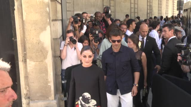 clotilde courau attends the valentino haute couture fall/winter 2019 2020 show as part of paris fashion week on july 03, 2019 in paris, france. - celebrity sightings stock videos & royalty-free footage