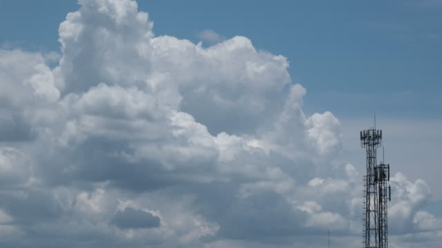 Cloud and Telephone transmitter heat effect