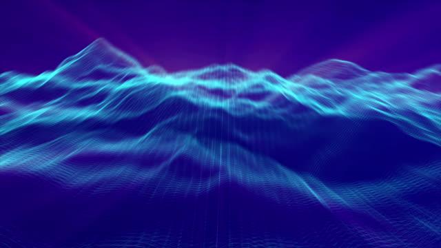 クラウドコンピューティングは、大きなデータ概念シミュレーション - distant点の映像素材/bロール