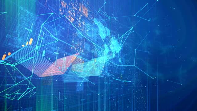 cloud computing, big data conceptual simulation - cool attitude stock videos & royalty-free footage
