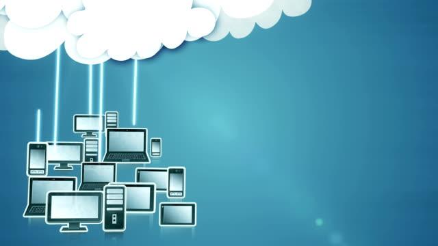Cloud computing (dark blue) - Loop